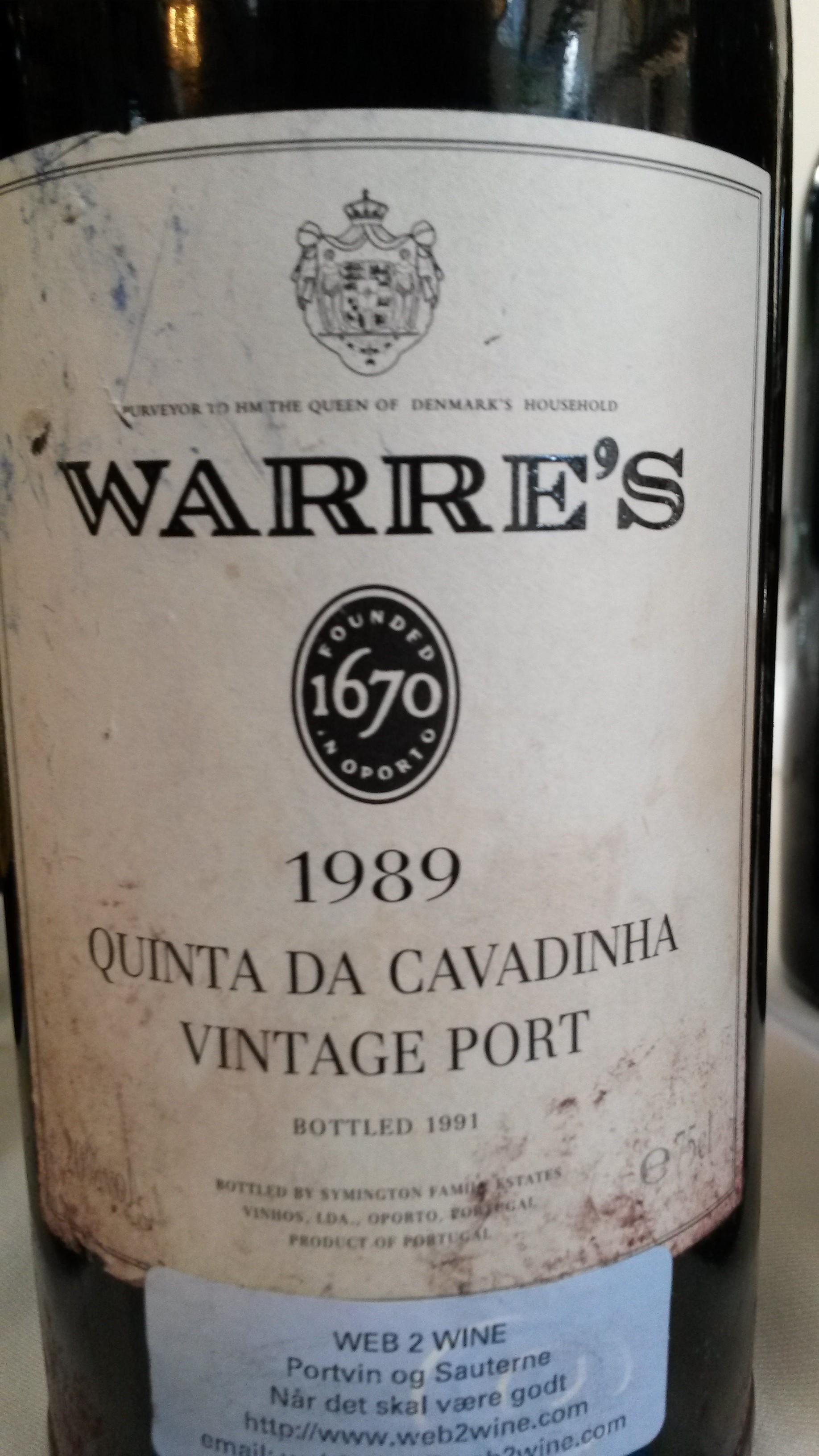 warre canadinha 1989