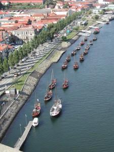 Udsigt fra Ponte dom Luis broen