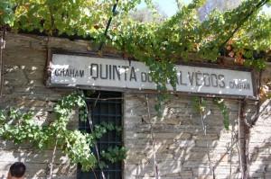 Indgangen til vineriet på Quinta dos Malvedos