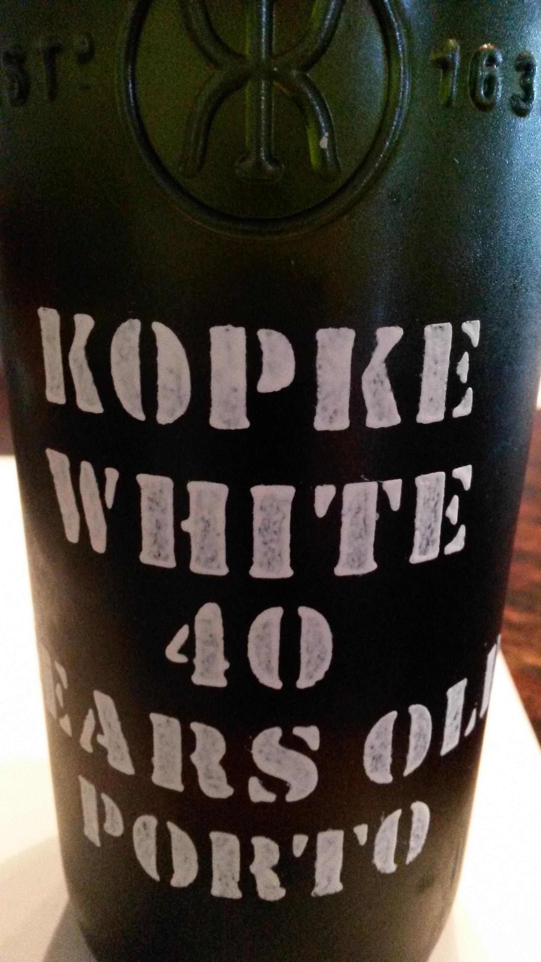 Kopke white 40