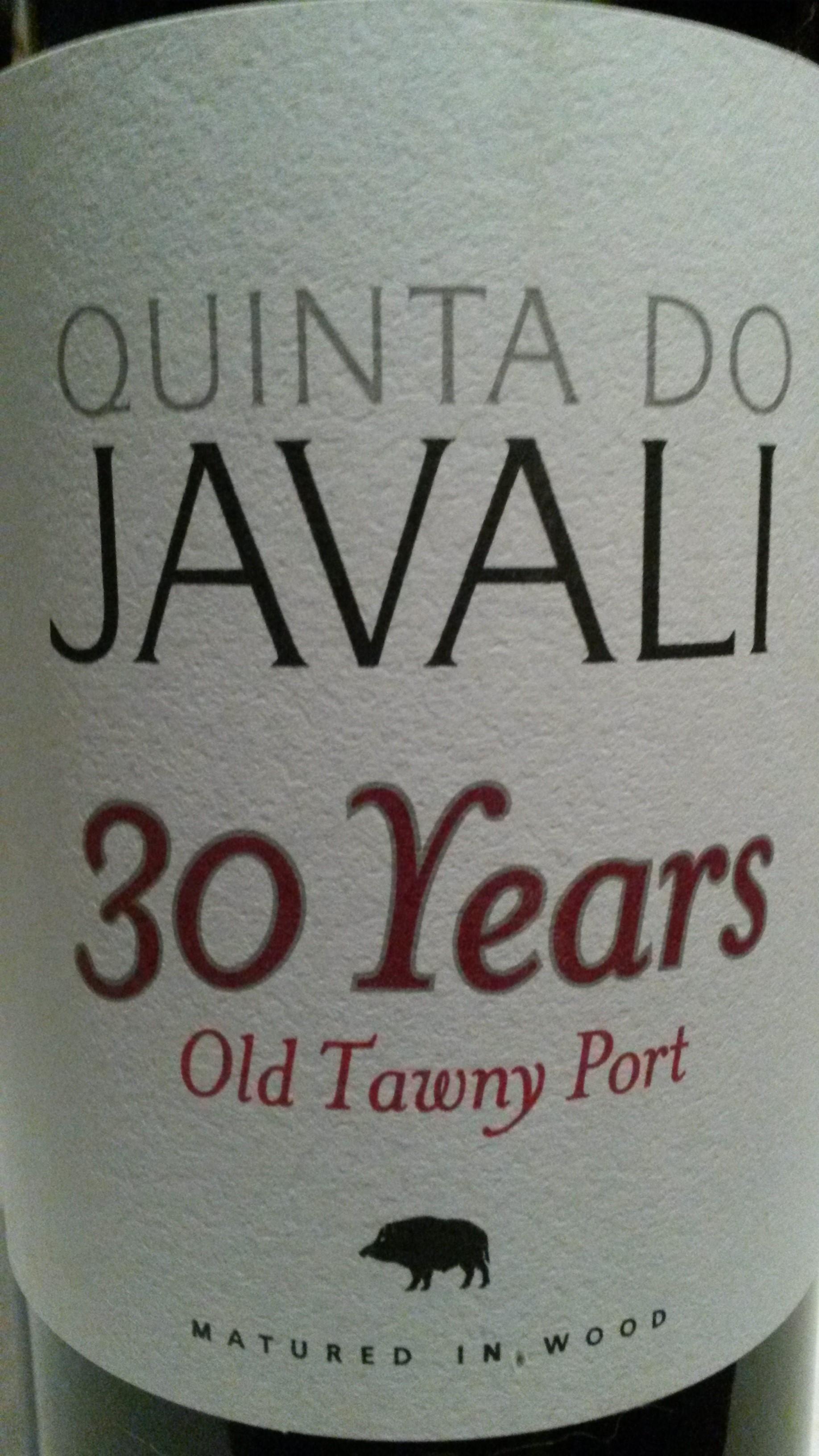 Javali 30 års