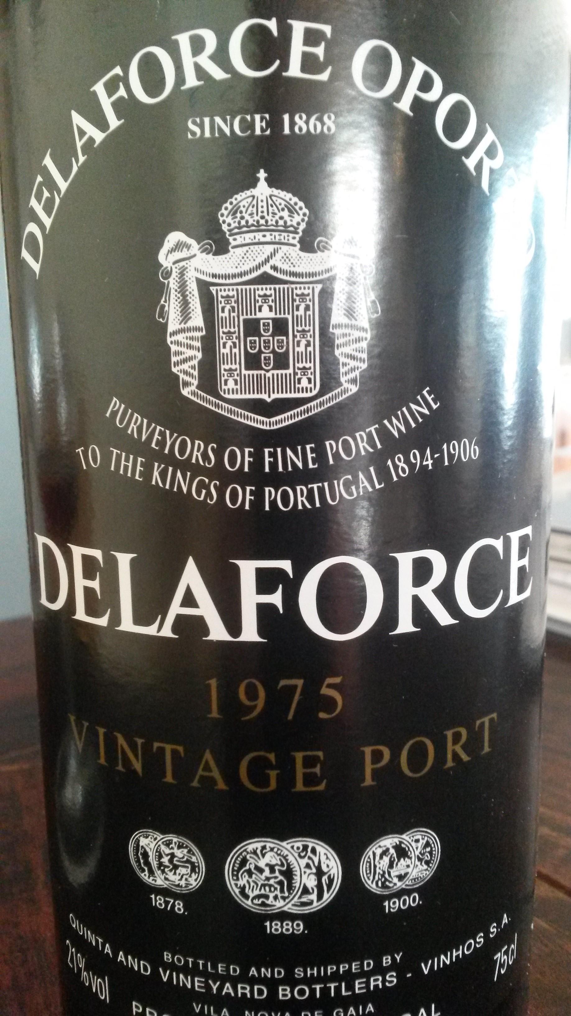Delaforce vintage 1975