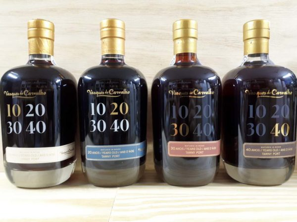 Vasques de Carvalho 10-40 års Tawny kasse