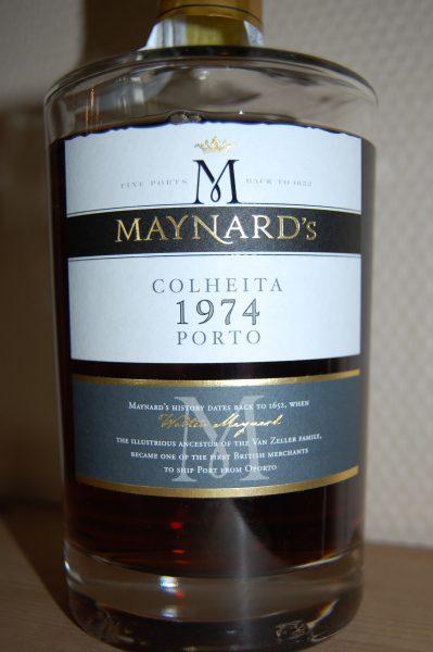 Maynards colheita 1974