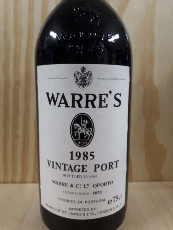 Warre vintage 1985