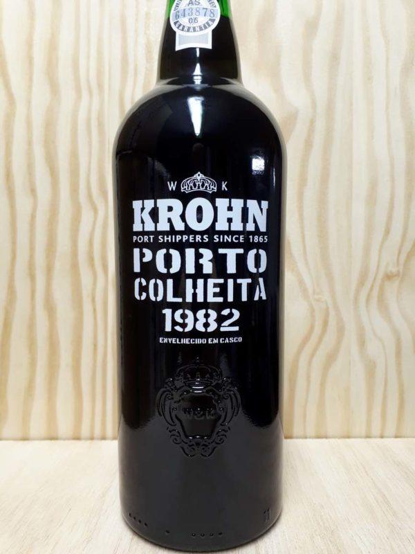 Køb Krohn colheita 1982 portvin