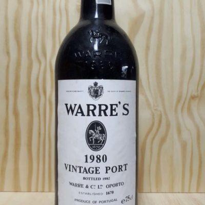 køb warre vintage 1980 portvin
