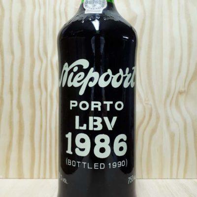 Køb Niepoort LBV 1986 portvin